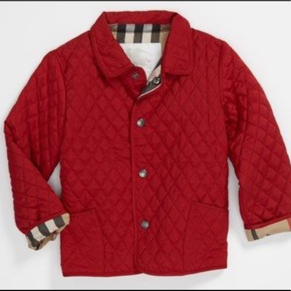 Burberry Toddler Colin Jacket Retail $185!